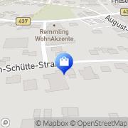 Karte Feuerwehrhaus Zetel, Deutschland