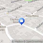Karte Creativ-Ofenbau GmbH Ralf Schätzle Waldkirch, Deutschland