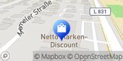 Karte Netto Filiale Bad Zwischenahn, Deutschland