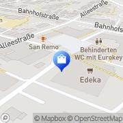 Karte Netto Filiale Ennigerloh, Deutschland
