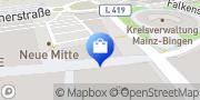 Karte Apollo-Optik Ingelheim am Rhein, Deutschland