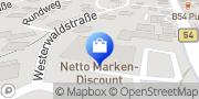 Karte Netto Filiale Rennerod, Deutschland