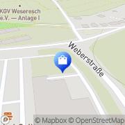 Karte e Center Osnabrück, Deutschland