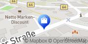 Karte Netto Filiale Beelen, Deutschland