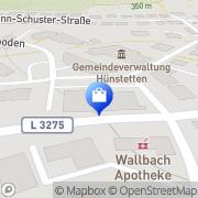 Karte Netto Filiale Hünstetten, Deutschland