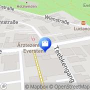 Karte Netto City Filiale Oldenburg, Deutschland