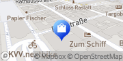 Karte Vodafone Shop Rastatt, Deutschland