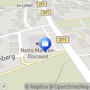 Karte Netto Filiale Flörsheim-Dalsheim, Deutschland