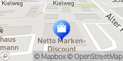 Karte Netto Filiale Oldenburg, Deutschland