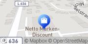 Karte Netto Filiale Lippstadt, Deutschland