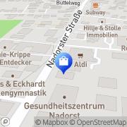 Karte Aldi GmbH & Co. KG Oldenburg, Deutschland