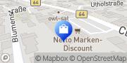 Karte Netto Filiale Herzebrock-Clarholz, Deutschland