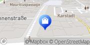 Karte Vodafone Shop Wiesbaden, Deutschland