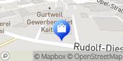 Karte Autoteile Schwarz GmbH Waldshut-Tiengen, Deutschland