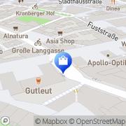 Karte Landenberger Tabakwaren GmbH Mainz, Deutschland