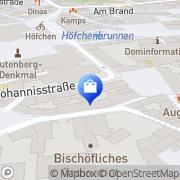 Karte A. und E. Krämer Mainz, Deutschland