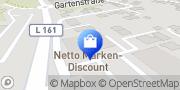 Karte Netto Filiale Küssaberg, Deutschland