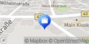 Karte Alte Apotheke Mainz, Deutschland