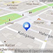 Karte WMF Worms, Deutschland