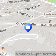Karte WMF Karlsruhe, Deutschland