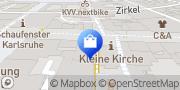 Karte Vodafone Shop Karlsruhe, Deutschland