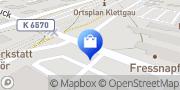 Karte Netto Filiale Klettgau, Deutschland