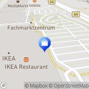 Karte IKEA Mannheim Mannheim, Deutschland