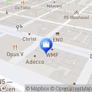 Karte WMF Mannheim, Deutschland