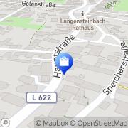 Karte St. Barbara-Apotheke Karlsbad, Deutschland