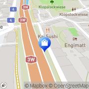 Karte Mondaine Watch Ltd Zürich, Schweiz