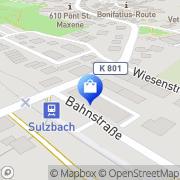 Karte Anke-Maren Janka Klavierpädagogin/Musiktherapeutin Sulzbach (Taunus), Deutschland