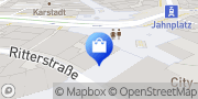 Karte Apollo-Optik Bielefeld, Deutschland