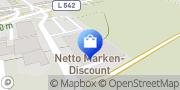 Karte Netto Filiale Mannheim, Deutschland