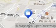 Karte DTG ROGGE Bielefeld, Deutschland