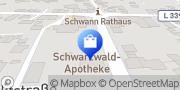 Karte Schwarzwald-Apotheke Straubenhardt, Deutschland