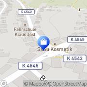 Karte Zum kleinen Hecht Neuenbürg, Deutschland