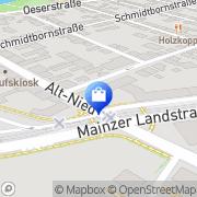Karte Phönix-Apotheke Frankfurt Flughafen, Deutschland