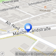Karte Phönix-Apotheke Frankfurt am Main, Deutschland