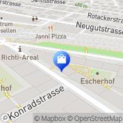 Karte Büro Sona AG - Wallisellen Wallisellen, Schweiz