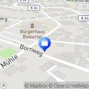 Karte Apotheke Rodheim-Bieber Biebertal, Deutschland