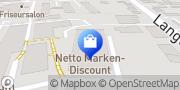 Karte Netto Filiale Bremerhaven, Deutschland