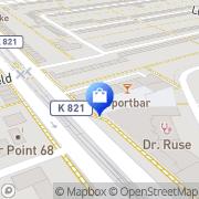 Karte Ebelfeld-Apotheke Frankfurt Flughafen, Deutschland