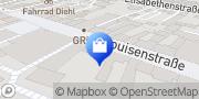 Karte Vodafone Shop Bad Homburg vor der Höhe, Deutschland