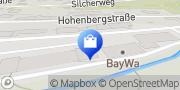 Karte BayWa AG Altensteig (Vertrieb Agrar) Altensteig, Deutschland