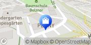 Karte PENNY-Markt Discounter Bensheim, Deutschland