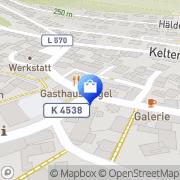 Karte Brunnen-Apotheke Bilfingen, Deutschland