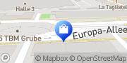 Karte Body Attack Premium Store Frankfurt Skyline Plaza Frankfurt am Main, Deutschland