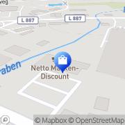 Karte Netto Filiale Delmenhorst, Deutschland