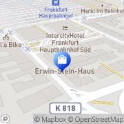 Karte Tic Tobacco Industry Consult Frankfurt am Main, Deutschland