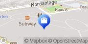 Karte Vodafone Shop Gießen, Deutschland